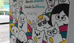 DISTED's Art Club Paints Mural – DISTED College