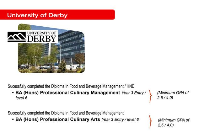 Oversea Study Path for Hospitality Management Student at DISTED