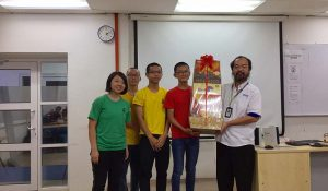 1st Runner – SMJK Phor Tay walked away a hamper worth RM 90 and 4 pcs of VIP tickers to 3D trick art museum.
