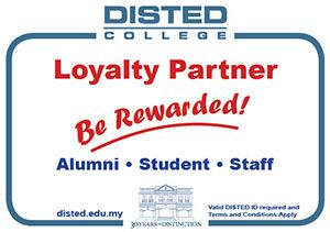 DISTED Loyalty & Rewards Partners Programme