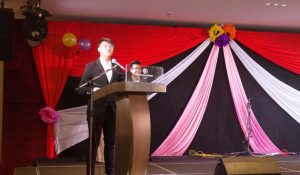 Speech by the President of HM Night 2018 – Chung Yincheng.