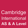 Cambridge International AS & A Level Logo