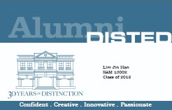 Alumni Benefits - DISTED College